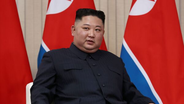 Председатель Госсовета Корейской Народно-Демократической Республики Ким Чен Ын - Sputnik Ўзбекистон