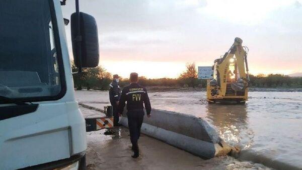 Самаркандскую область затопило из-за дождей - фото - Sputnik Узбекистан