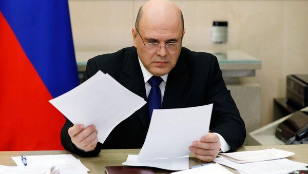Премьер-министр РФ М. Мишустин провел заседание Координационного совета по борьбе с коронавирусной инфекцией - Sputnik Ўзбекистон