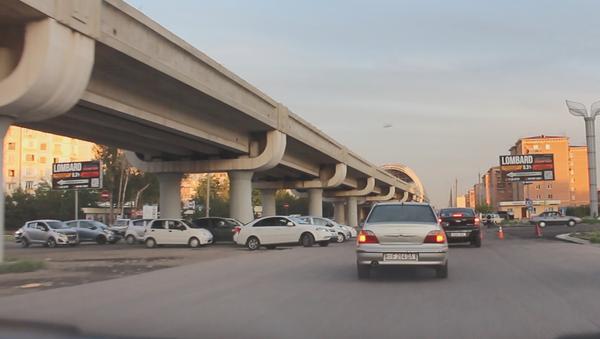 Улицы Ташкента после частичного снятия ограничений на пользование авто - Sputnik Ўзбекистон