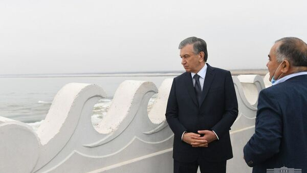Шавкат Мирзиёев приехал в Сирдарьинскую область - Sputnik Ўзбекистон