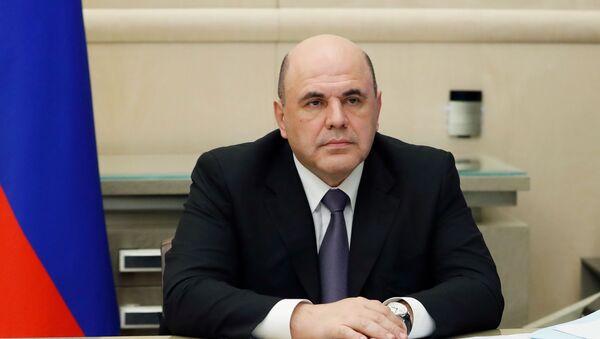 Президент РФ В. Путин провел совещание с главами регионов по борьбе с распространением коронавируса в РФ - Sputnik Узбекистан