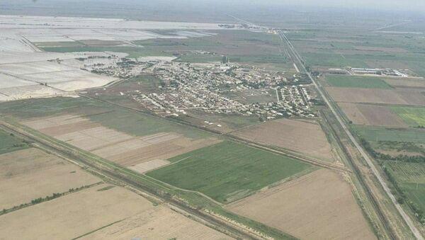 Ликвидация последствий прорыва дамбы на Сардобинском водохранилище - Sputnik Узбекистан