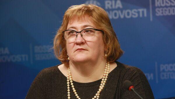 Елена Кузьмина - Sputnik Узбекистан