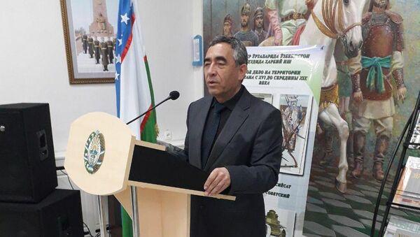 Председатель Общества ветеранов Министерства обороны Узбекистана Абубакр Наврузов - Sputnik Узбекистан