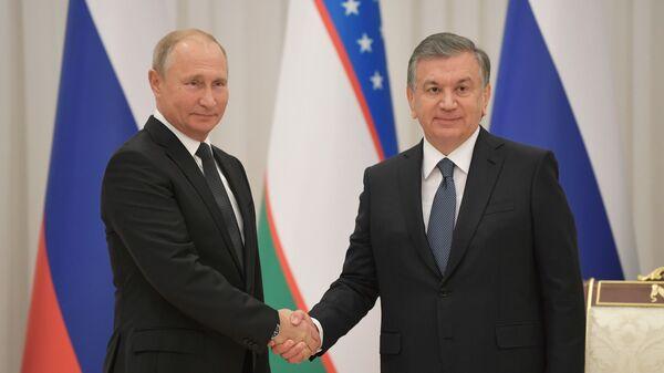Государственный визит президента РФ В. Путина в Узбекистан - Sputnik Ўзбекистон