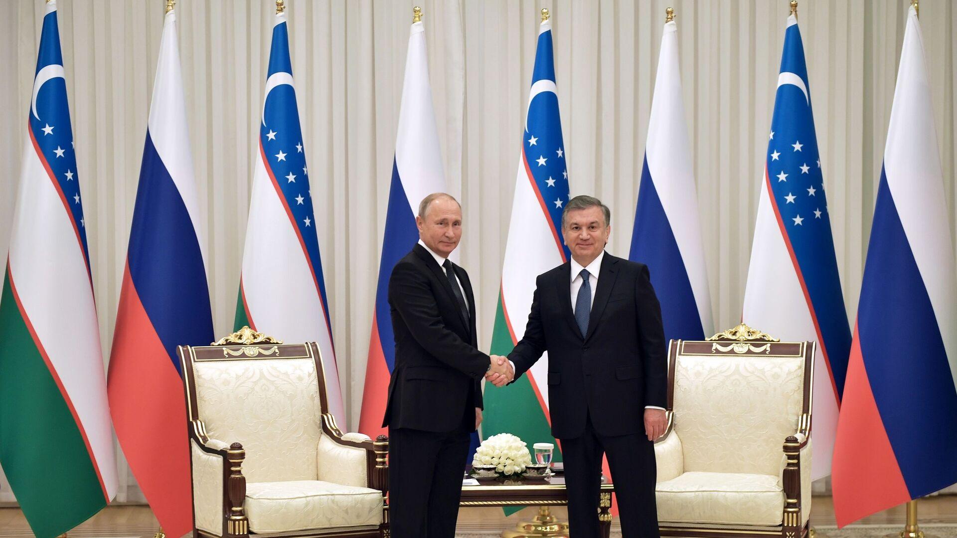 Gosudarstvennыy vizit prezidenta RF V. Putina v Uzbekistan - Sputnik Oʻzbekiston, 1920, 13.09.2021