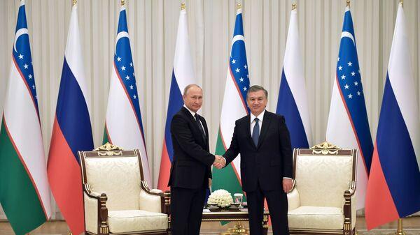 Gosudarstvennыy vizit prezidenta RF V. Putina v Uzbekistan - Sputnik Oʻzbekiston