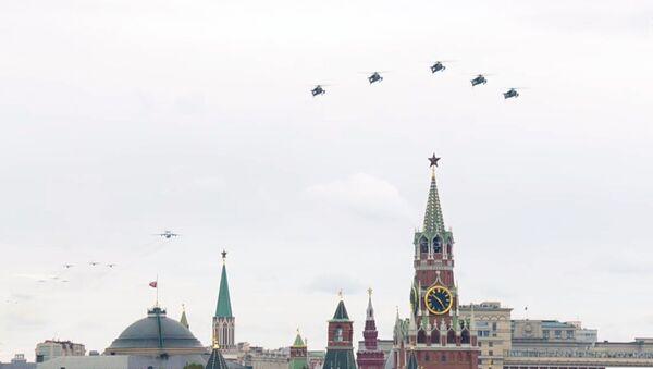 LIVE_SPUTNIK: Aviaparad v chest 75-letiya Pobedы - Sputnik Oʻzbekiston