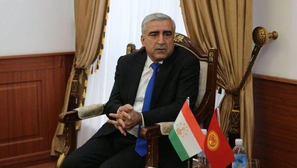 Chrezvыchaynыy i Polnomochnыy Posol Respubliki Tadjikistan v Kыrgыzskoy Respublike Nazirmada Alizoda - Sputnik Oʻzbekiston