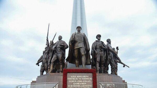 Памятник в Парке Победы в Ташкенте - Sputnik Узбекистан
