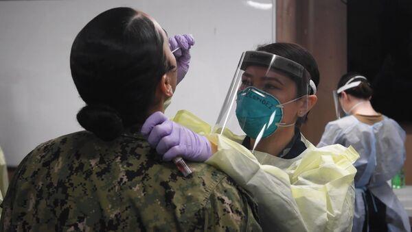 COVID-19 ударил по военной верхушке США: заболевание подозревают у командира Национальной гвардии - Sputnik Узбекистан