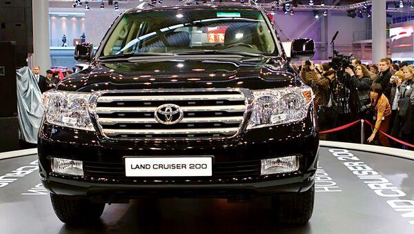 Toyota Land Cruiser 200 - Sputnik Oʻzbekiston