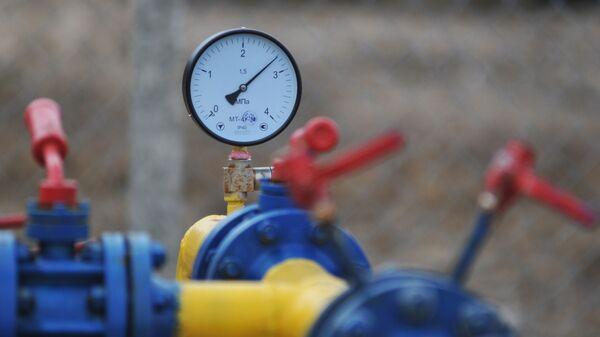 Компрессорная установка Креховского месторождения природного газа в Жидачевском районе Львовской области, архивное фото - Sputnik Узбекистан