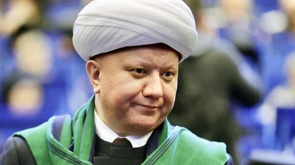 Глава Духовного собрания мусульман России Альбир Крганов - Sputnik Ўзбекистон