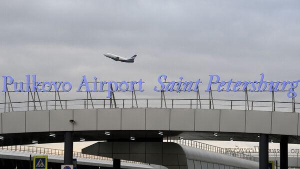 Аэропорт Пулково в Санкт-Петербурге - Sputnik Ўзбекистон
