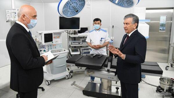 В Ташкенте открылся национальный детский медицинский центр - фото - Sputnik Узбекистан