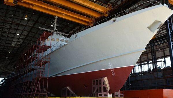 Малый ракетный корабль проекта 22800 (Каракурт) - Sputnik Ўзбекистон