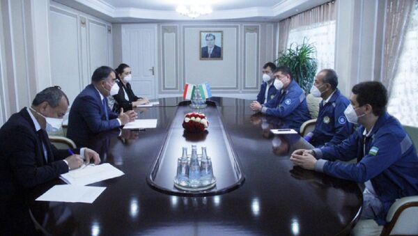В Согдийской области Таджикистана на помощь коллегам в борьбе c COVID-19 прибыли узбекские медики - Sputnik Ўзбекистон
