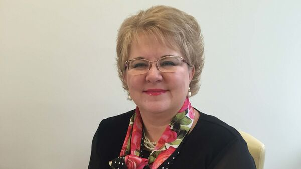 Руководитель проекта по развитию экспортной логистики РЭЦ Алевтина Кириллова - Sputnik Узбекистан