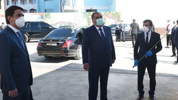 Prezident Respubliki Tadjikistan Emomali Raxmon - Sputnik Oʻzbekiston