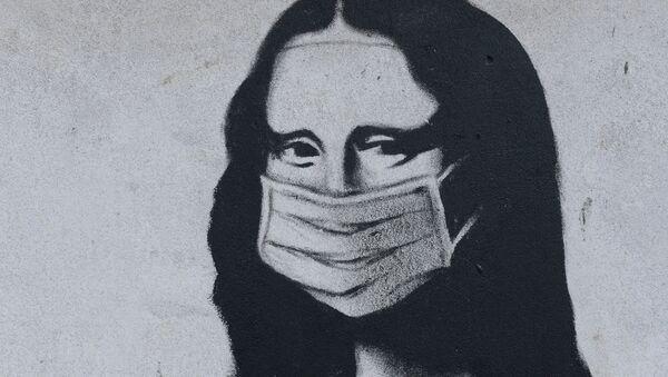 Mona Liza krupno - Sputnik Oʻzbekiston