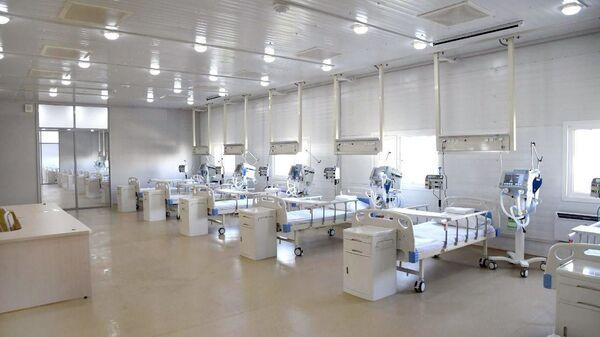 Строительство специализированной многопрофильной больницы в Зангиатинском районе Ташкентской области - Sputnik Узбекистан