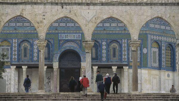 Виды Израиля. Мечеть аль-Акса - Sputnik Ўзбекистон