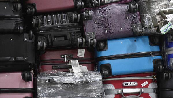 Выдача багажа в аэропорту Шереметьево  - Sputnik Узбекистан