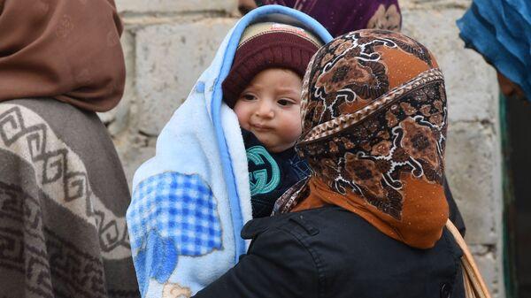 Сирийские беженцы - Sputnik Ўзбекистон