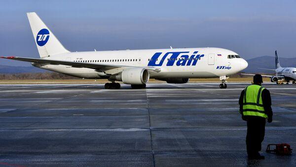 Самолет Boeing 767-200 авиакомпании ЮТэйр - Sputnik Узбекистан