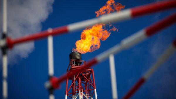 Нефтяная платформа - Sputnik Узбекистан