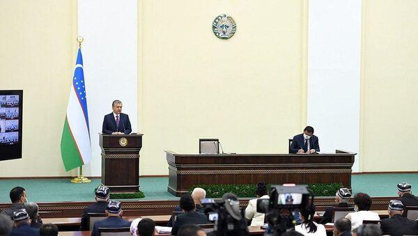 Президент Шавкат Мирзиёев на встрече с ферганским активом затронул события в Сохе - Sputnik Ўзбекистон