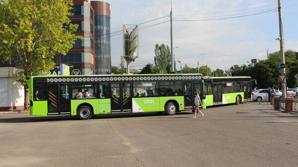 Возобновление движения общественного транспорта в Ташкенте - Sputnik Узбекистан