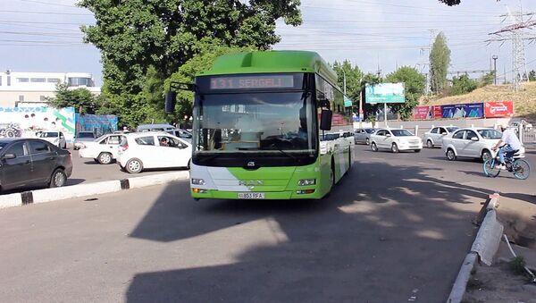 В Ташкенте возобновлено движение автобусов - Sputnik Ўзбекистон