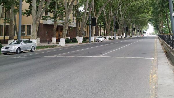 Университетский бульвар в Самарканде - Sputnik Узбекистан