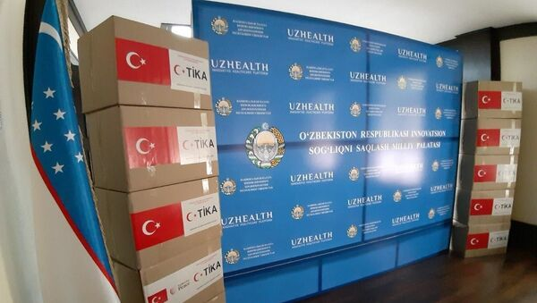 Gumanitarnaya pomoщ ot TIKA peredana uzbekskim vracham - Sputnik Oʻzbekiston