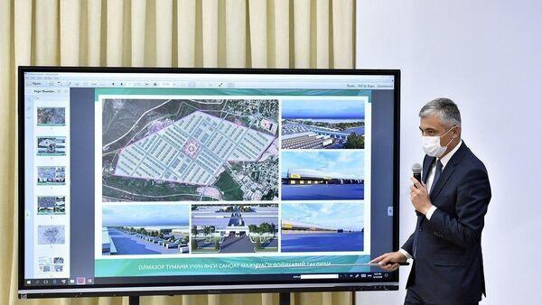 По соседству с Алмазарским районом Ташкента построят город-спутник в Ташкентском районе на 150 тысяч жителей - Sputnik Ўзбекистон