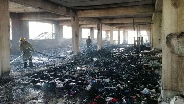 Произошел пожар в швейном цеху в Андижане - Sputnik Ўзбекистон