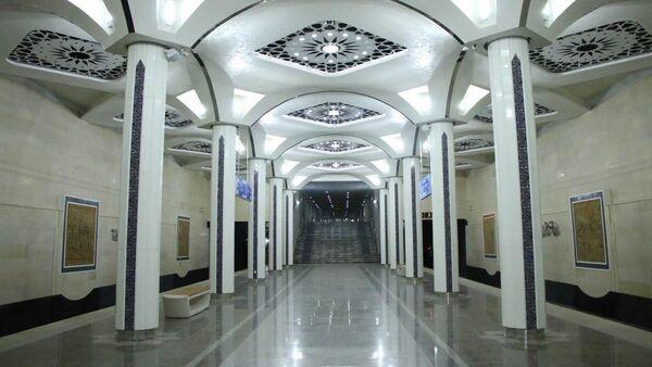 Новая станция Туркистан ташкентского метро - Sputnik Узбекистан