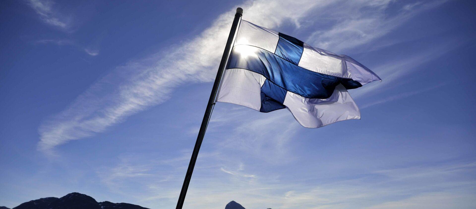 Флаг Финляндии - Sputnik Узбекистан, 1920, 17.06.2020