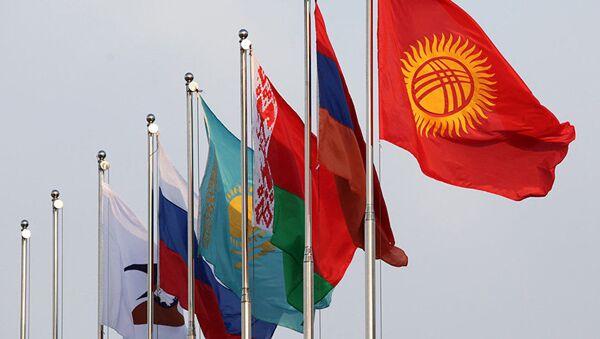 Флаги стран ЕАЭС. Архивное фото - Sputnik Ўзбекистон