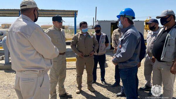 Министр энергетики Узбекистана Алишер Султанов посетил Бухарскую область с рабочим визитом - Sputnik Узбекистан