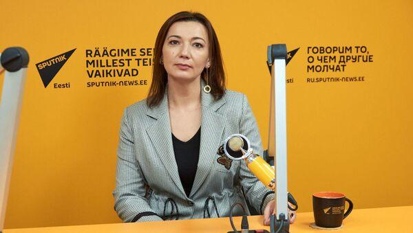 Руководитель Sputnik Эстония Елена Черышева  - Sputnik Узбекистан