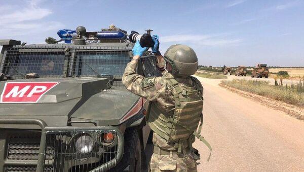 Россия и Турция провели совместное патрулирование в Сирии  - Sputnik Ўзбекистон