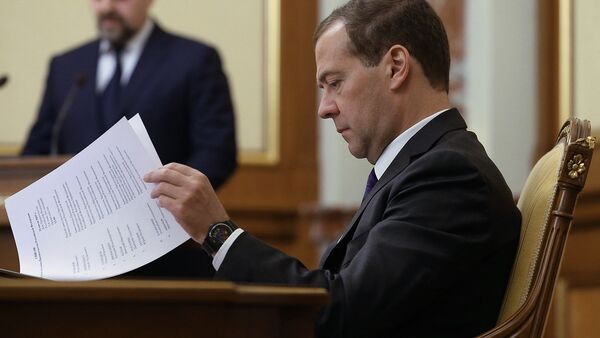 Председатель правительства РФ Дмитрий Медведев - Sputnik Узбекистан