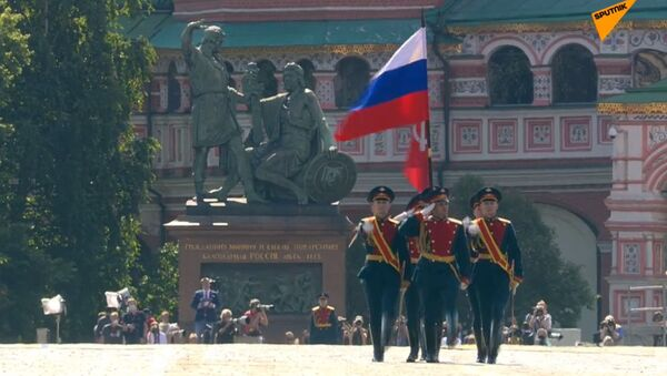 СПУТНИК_LIVE: Парад победы_24.06.2020 - Sputnik Ўзбекистон