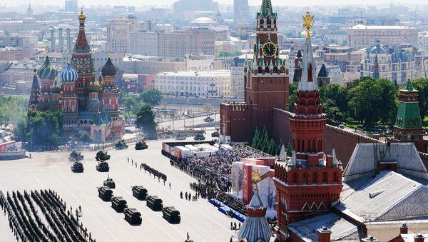 Военный парад в ознаменование 75-летия Победы на Красной площади - Sputnik Ўзбекистон