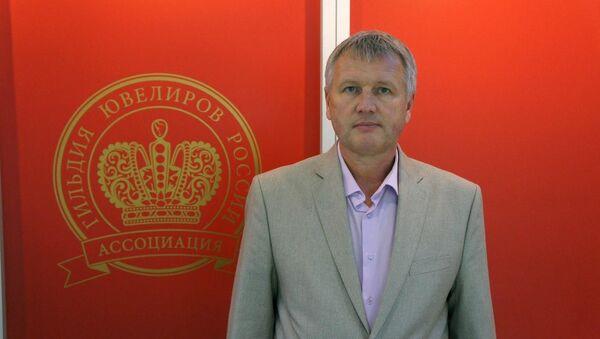 Генеральный директор Ассоциации Гильдия ювелиров России Эдуард Уткин - Sputnik Узбекистан