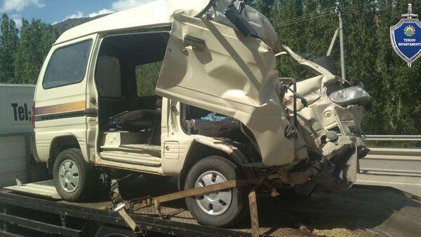 Авария в Наманганской области унесла жизни двух человек - Sputnik Узбекистан